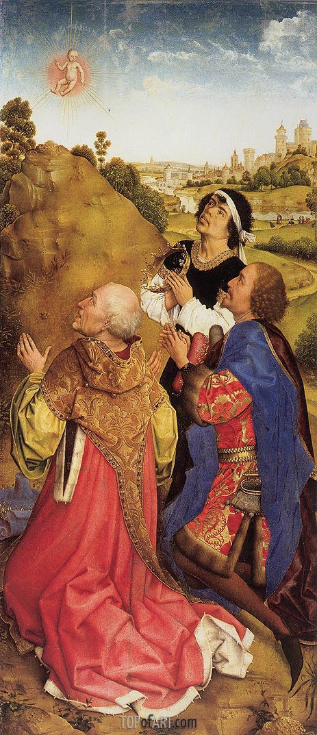 Three Magi, c.1445/48 | van der Weyden | Painting Reproduction