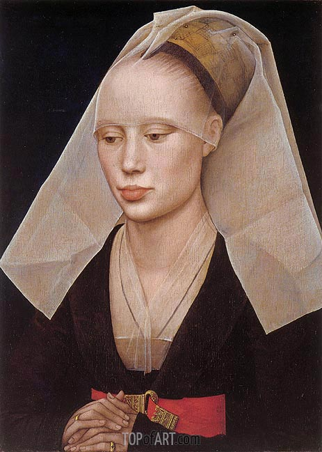Portrait of a Lady, c.1460 | van der Weyden | Painting Reproduction