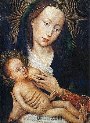van der Weyden | Madonna, c.1450/60