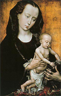 Madonna, c.1460 | van der Weyden | Painting Reproduction
