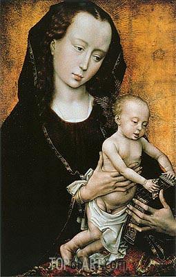 van der Weyden | Madonna, c.1460