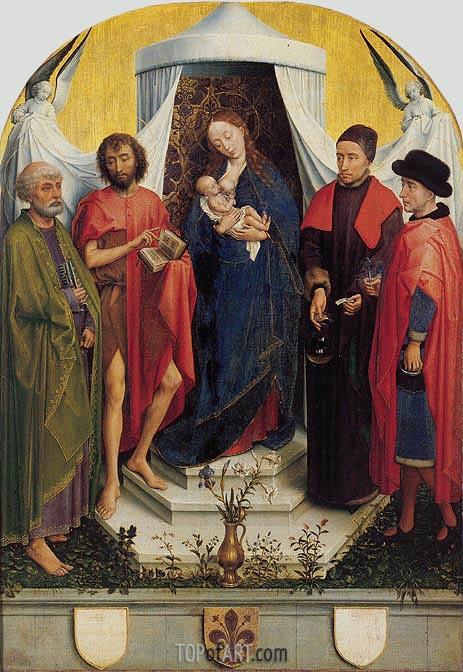 van der Weyden | Medici Madonna, c.1460