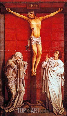 Crucifixion, c.1460 | van der Weyden| Painting Reproduction