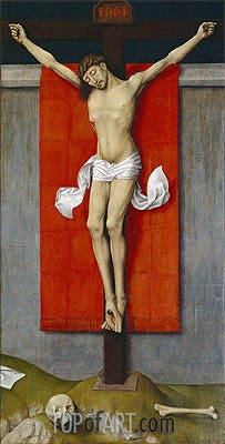 van der Weyden | The Crucifixion, c.1450/55