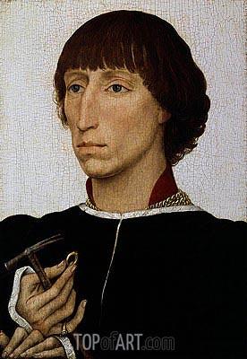 van der Weyden | Francesco d'Este, c.1460