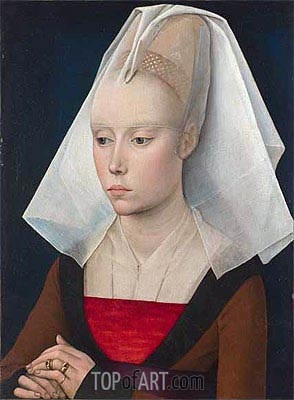 Portrait of a Lady, a.1460 | van der Weyden| Painting Reproduction