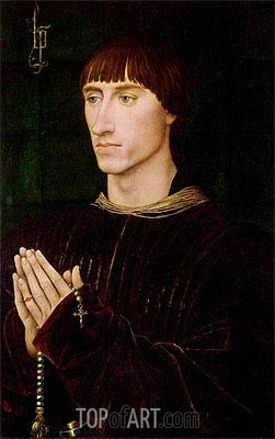 Portrait of Philippe de Croy Seigneur of Sempy, undated | van der Weyden | Painting Reproduction