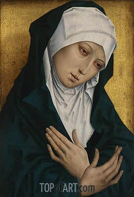 Mater Dolorosa, undated | van der Weyden | Painting Reproduction