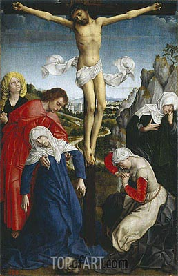 Crucifixion, undated | van der Weyden | Painting Reproduction
