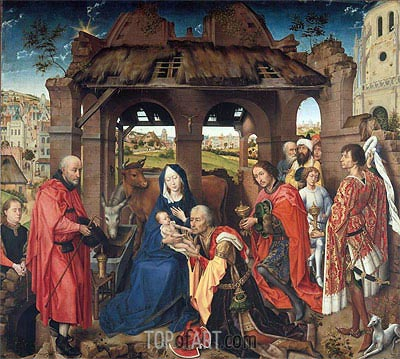 Columba Altarpiece, c.1455 | van der Weyden | Painting Reproduction