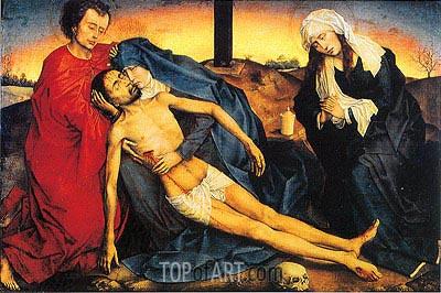 van der Weyden   Pieta (Lamentation of Christ), c.1450