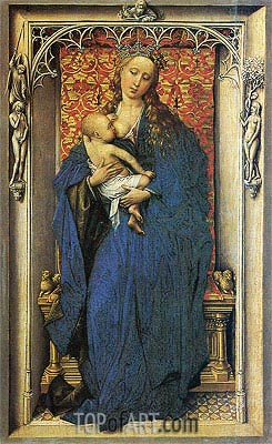 Madonna, c.1440 | van der Weyden| Painting Reproduction