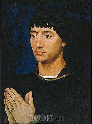 van der Weyden | Portrait of Jean de Gros, c.1450/60