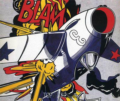 Roy Lichtenstein | BLAM, 1962