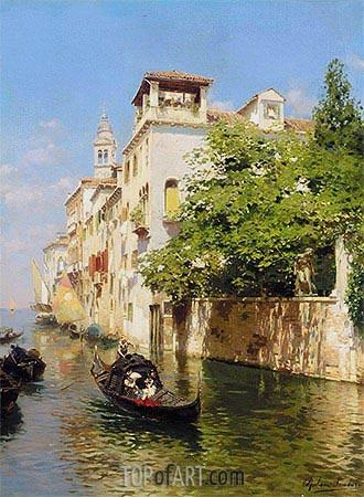Rubens Santoro | Canale Marin, Venice, undated