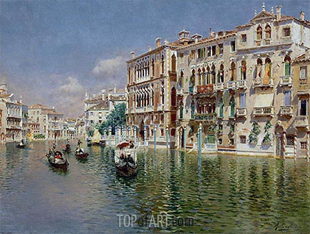 Rubens Santoro | Grand Canal, Venice, undated