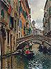 A Quiet Canal, Venice | Rubens Santoro