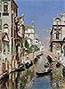 Venetian Canal | Rubens Santoro