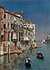 Gondolas at the Entrance to the Grand Canal | Rubens Santoro