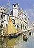 Gondolas on a Venetian Canal | Rubens Santoro