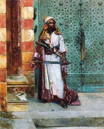 Standing Guard, undated by Rudolph Ernst | Painting Reproduction