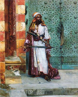 Rudolph Ernst | Standing Guard, undated