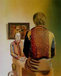 The Angelus of Gala (Portrait of Gala) | Dali | outdated
