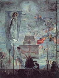The Discovery of America by Christopher Columbus, c.1958/59 by Dali | Painting Reproduction