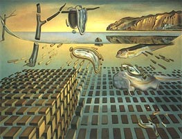 The Disintegration of Persistence of Memory | Dali | outdated
