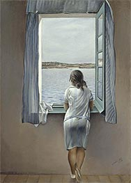 Figure at the Window, 1925 by Dali | Painting Reproduction