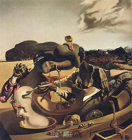 Autumn Cannibalism, 1936 | Dali | Painting Reproduction