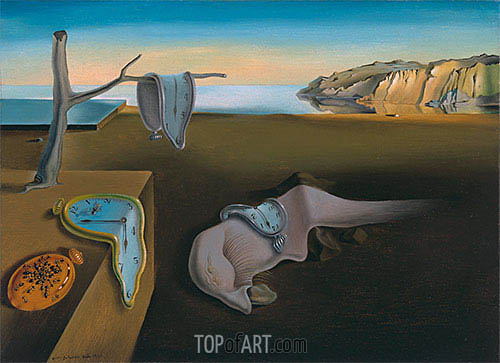 The Persistence of Memory, 1931 | Dali | Painting Reproduction
