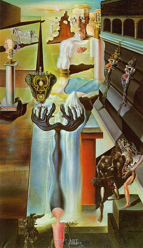 Dali | The Invisible Man, 1929