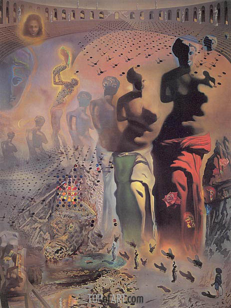 The Hallucinogenic Toreador, c.1968/70 | Dali | Painting Reproduction