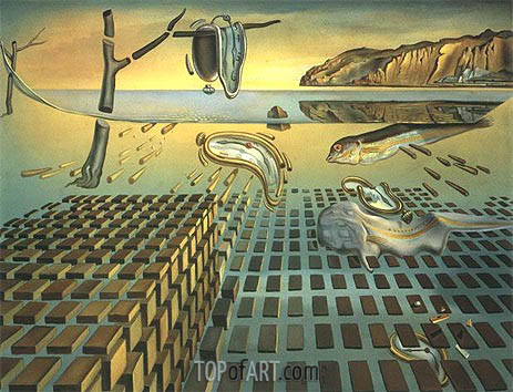 Dali | The Disintegration of Persistence of Memory, c.1952/54