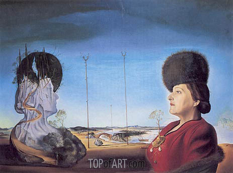 Portrait of Mrs. Isabel Styler Tas, 1945 | Dali | Painting Reproduction