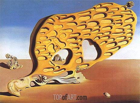 The Enigma of Desire - My Mother, My Mother, My Mother, 1929 | Dali | Gemälde Reproduktion
