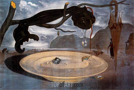 The Enigma of Hitler, 1939 | Dali | Painting Reproduction