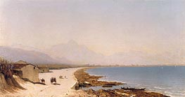 Near Palermo, 1874 by Sanford Robinson Gifford | Painting Reproduction