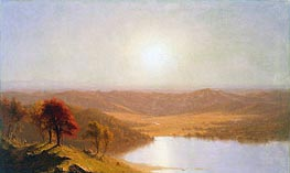 A View from the Berkshire Hills, near Pittsfield, Massachusetts | Sanford Robinson Gifford | outdated