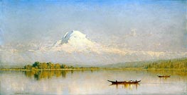 Mount Rainier, Bay of Tacoma - Puget Sound | Sanford Robinson Gifford | outdated
