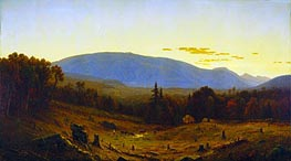 Hunter Mountain, Twilight | Sanford Robinson Gifford | Painting Reproduction