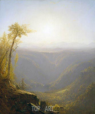 Sanford Robinson Gifford | A Gorge in the Mountains (Kauterskill Clove), 1862
