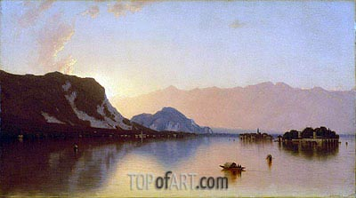 Isola Bella in Lago Maggiore, 1871 | Sanford Robinson Gifford | Painting Reproduction