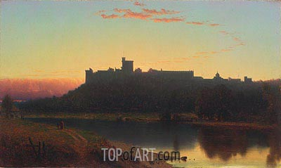 Windsor Castle, 1860 | Sanford Robinson Gifford| Painting Reproduction