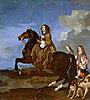 Christina of Sweden on Horseback | Sebastien Bourdon