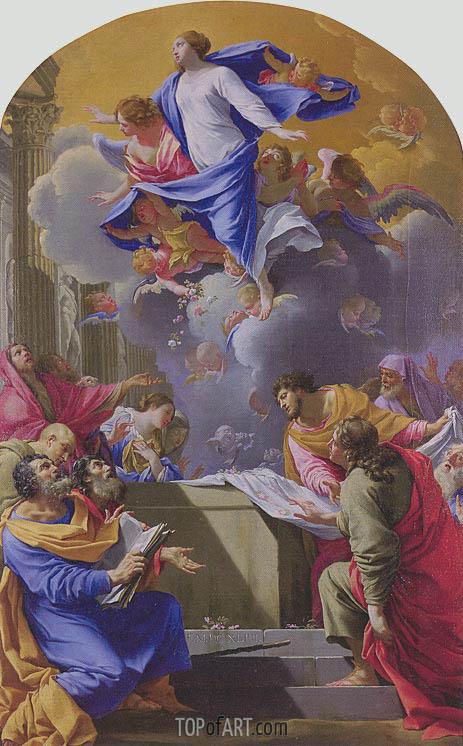 Simon Vouet | Assumption of the Virgin, 1647
