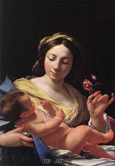Simon Vouet | Virgin and Child, undated