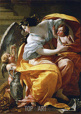 Wealth, c.1635 | Simon Vouet | Painting Reproduction