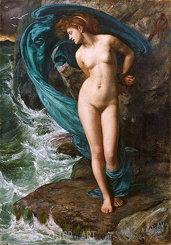 Andromeda, 1869 | Poynter| Painting Reproduction